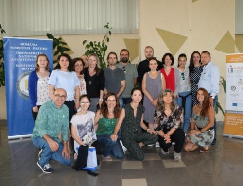 2η ΔΙΕΘΝΗΣ ΔΡΑΣΗ ΚΑΤΑΡΤΙΣΗΣ για το Erasmus + KA2 EDUCATE PROJECT// αποτελεσματική κοινωνική ενσωμάτωση των φυλακισμένων.