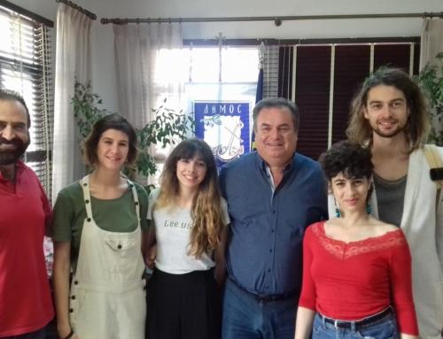 4 νέοι εθελοντές μέσω του Erasmus+ στα Νέα Μουδανιά!