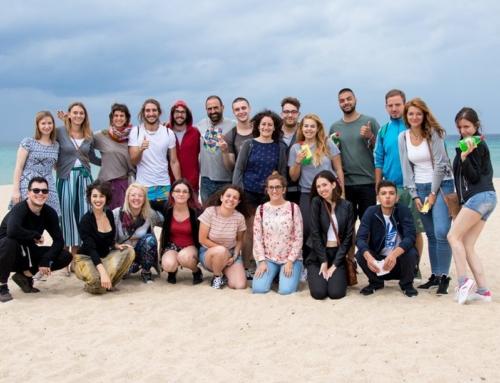20 εθελοντές από Ευρώπη στη Γιορτή Σαρδέλας!