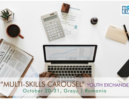 ΝΕΟ! Ανταλλαγή Νέων στην Ρουμανία // Multi Skill Carousel // 20-31 Οκτωβρίου 2019