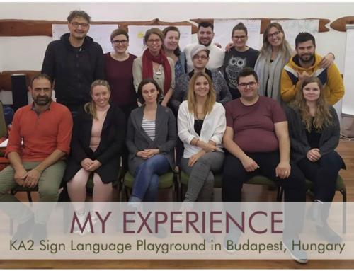 Sign Language Playground – Μιλώντας τη γλώσσα της καρδιάς