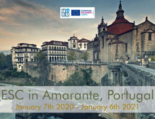 ΝΕΟ! 1 θέση εθελοντισμού για 1 χρόνο στην Πορτογαλία! Έναρξη Ιανουάριος 2020