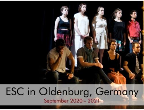 ΝΕΟ ESC στη Γερμανία με θέμα το ΘΕΑΤΡΟ για 1 χρόνο!