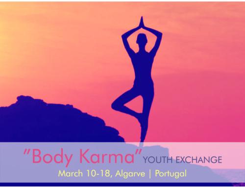 Νέο!! Ανταλλαγή νέων στην Πορτογαλία «Body Karma» 10-18 Μαρτίου 2019!