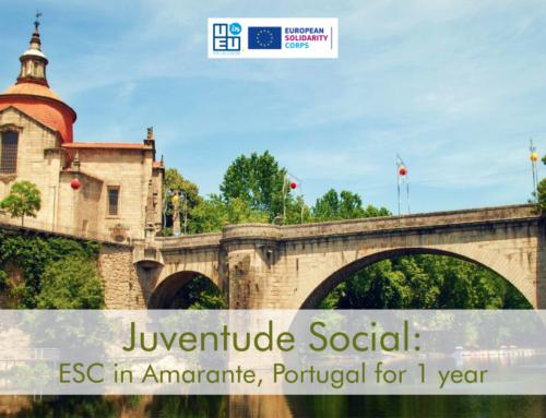 ΝΕΟ! 1 θέση εθελοντισμού για 1 χρόνο στην Πορτογαλία! Άμεση έναρξη!!!
