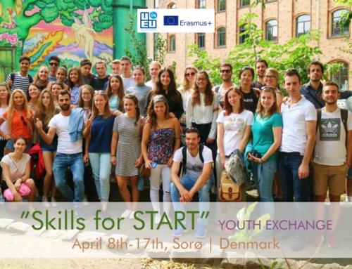 Ανταλλαγή Νέων στη Δανία «Skills for Start» // 8 – 17 Απριλίου 2020