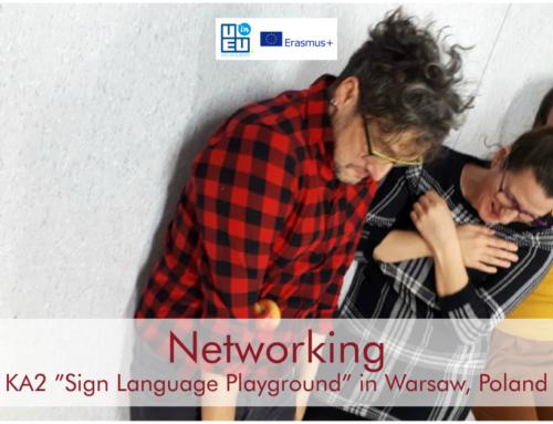 KA2 Training Course στη Βαρσοβία! Παίζοντας με κωφούς και ακούοντες!