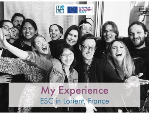 «Πώς ήταν στη Γαλλία»; «Κάθισε, θα σου πω»! – Η εμπειρία εθελοντισμού της Δήμητρας!