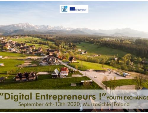 ΝΕΟ!!! Ανταλλαγή Νέων Digital Entrepreneurs// Πολωνία // 6-13 Σεπτεμβρίου 2020