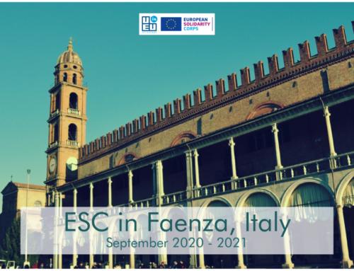 NEO!!! Πρόγραμμα εθελοντισμού στην Ιταλία για 1 χρόνο! Έναρξη Σεπτέμβριος 2020!