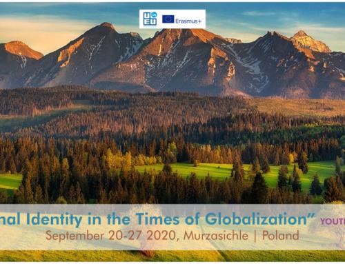 Ανταλλαγή Νέων στην Πολωνία «National Identity» // 20-27 Σεπτεμβρίου 2020