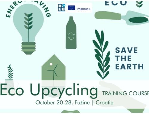 Νέο Σεμινάριο! «Eco Upcycling» 20-28 Οκτωβρίου στην Κροατία.
