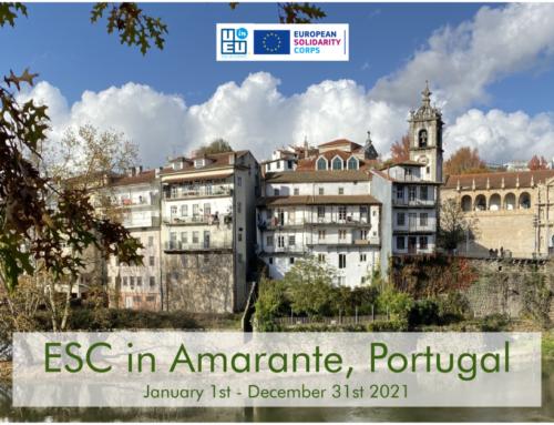 Νέο Πρόγραμμα Εθελοντισμού στην Πορτογαλία! Έναρξη Ιανουάριος 2021!