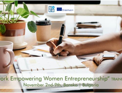 Νέο σεμινάριο // Ενίσχυση Γυναικείας Eπιχειρηματικότητας // 2-9 Νοεμβρίου // Bansko Βουλγαρίας