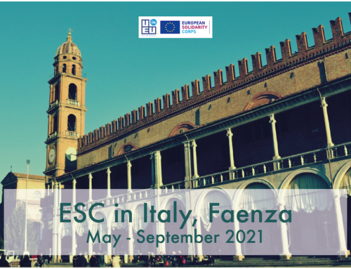NEO!!! Πρόγραμμα εθελοντισμού στην Ιταλία για 5 μήνες! Έναρξη Μάιος 2021!