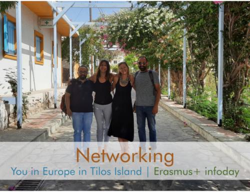 Το You in Europe στην ακριτική Τήλο! // Erasmus+ infoday!
