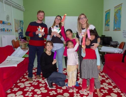 Weaving Webs of Stories: Δράση Φιλαναγνωσίας στο Φιλοξενείο της ΜΚΟ Άρσις.