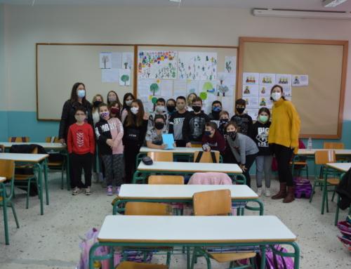 Ταξιδεύοντας με ιστορίες, στο 4ο Δημοτικό Σχολείο Νέων Μουδανιών!