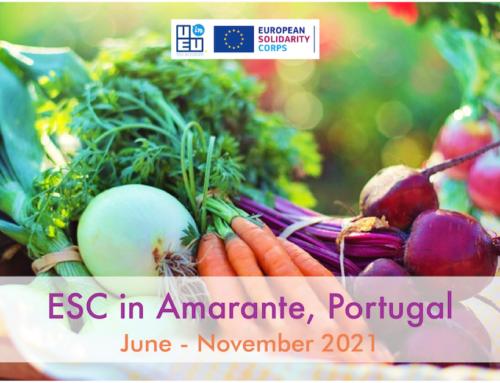 ΝΕΟ! 1 θέση εθελοντισμού στην Πορτογαλία για 6 μήνες // Κοινωνία και περιβάλλον // Έναρξη: Ιούνιος 2021
