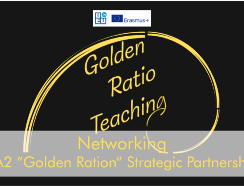 Golden Ration KA2 Strategic Partnership: αναζητώντας τη Χρυσή Τομή στην τυπική και την μη τυπική μάθηση!