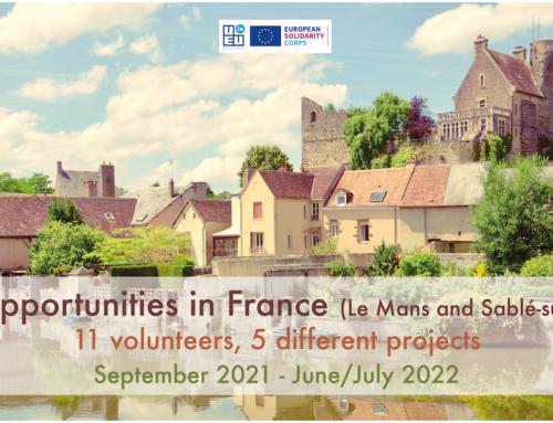 11 νέες θέσεις εθελοντισμού στην Γαλλία // Σεπτέμβριος 2021 – Ιούλιος 2022