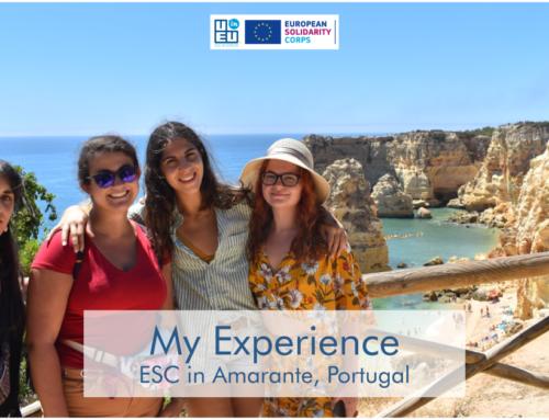 «Εθελοντισμός» Κανείς δεν μπορεί να σου στερήσει αυτή την εμπειρία – ούτε καν η πανδημία! Η Αγγελική μας γράφει από Πορτογαλία!