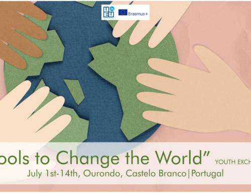 Νέο! Ανταλλαγή Νέων στην Πορτογαλία // Tools to change the world //1-14 Ιουλίου 2021!