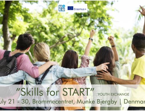 Νέο! Ανταλλαγή Νέων στη Δανία «Skills for start» 21/7/2021 έως 30/7/2021!