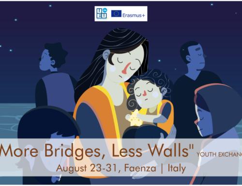 ΝΕΟ! Ανταλλαγή Νέων «More bridges, less walls» στην Ιταλία! 23-31 Αυγούστου 2021!