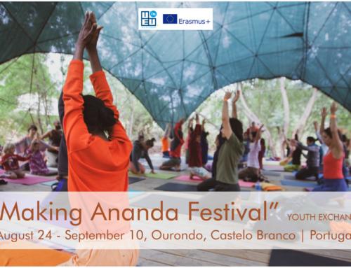 Ανταλλαγή Νέων στην Πορτογαλία! // Διοργάνωση Ananda Festival // 24 Αυγούστου – 10 Σεπτεμβρίου 2021