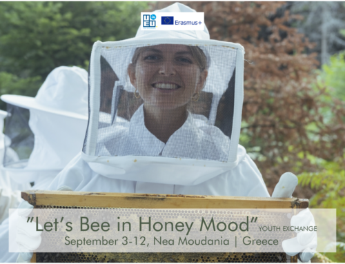 Lets… Bee in Honey mood! Ανταλλαγή Νέων στα Νέα Μουδανιά! 3-12 Σεπτεμβρίου 2021!