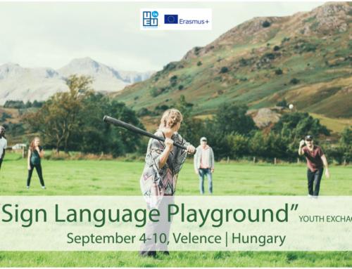 Ανταλλαγή νέων για κωφούς και ακούοντες «Sign Language Playground» // Ουγγαρία // 4-10 Σεπτεμβρίου 2021