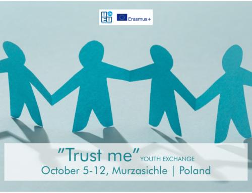 ΝΕΟ!!! Ανταλλαγή Νέων «Trust me» στην Πολωνία // 5 – 12 Οκτ. 2021!