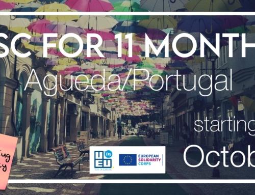 Νέο!! Πρόγραμμα εθελοντισμού στην Πορτογαλία για 11 μήνες!! Άμεση έναρξη!