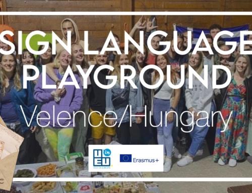 «Sign Language Playground» – Τα λόγια ήταν περιττά !