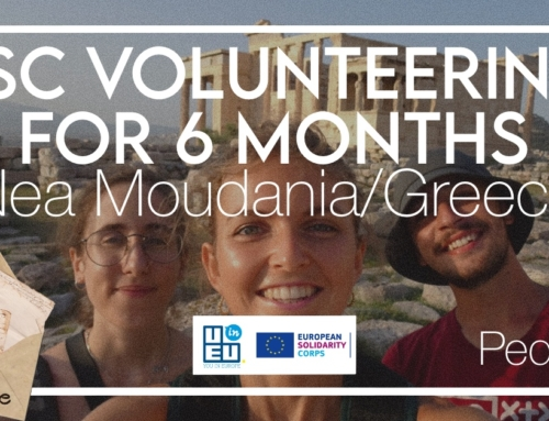 6 months in Greece? Why not? Pedro's ESC experience in Nea Moudania!