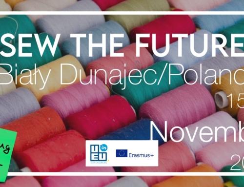 Νέο Σεμινάριο»Sew the future» / Ραπτική, οικολογία και κοινωνική ενσωμάτωση / Πολωνία / 15-23 Νοεμβρίου