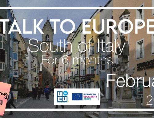 Νέο πρόγραμμα εθελοντισμού στην Ιταλία για 6 μήνες! Έναρξη: Φεβρουάριος 2022!